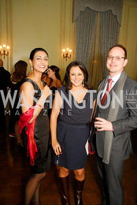 Sophia Siddiqui, Mona Rahman, Brian, Mulherin, Paint the Town Red, November 3, 2011, Kyle Samperton