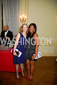 Mary Brandenberger, Cherreka Montgomery   ,Paint the Town Red, November 3, 2011, Kyle Samperton
