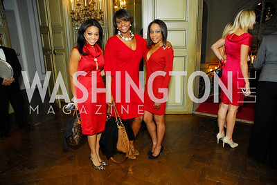 Jennifer Fisher, Mariko Bennett, Candice Jones, Paint the Town Red, November 3, 2011, Kyle Samperton