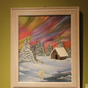 """""""Aurora Borealis"""" - oil on canvas"""