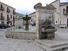 La fontana nella Piazza Grande.<br /> <br /> Palazzo Adriano, Sicilia