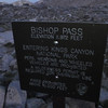 It took us about 2 hours to get to Bishop Pass; a little after 5am
