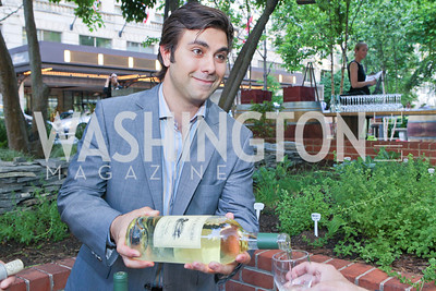 Frank Barbagallo. Photo by Alfredo Flores. Park Hyatt Masters of Food and Wine Reception. Blue Duck Tavern Terrace. June 2, 2011