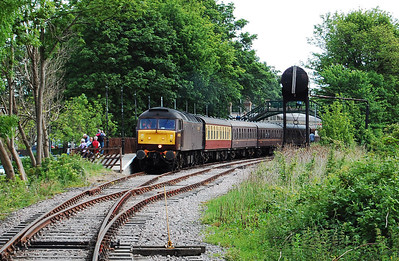 47826 is seen on arrival at Stanhope with 1Z72 (20/06/2010)