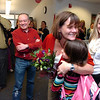 "IMPACT.jpg Teacher Renee Cerny hugs third grader Citlalli Prez-Antillon during Impact for Education Award ceremonies at Crest View Elementary at the school in Boulder on Tuesday December 7, 2010. Looking on at left is Impact for Education board member Emilio Suarez and Amy Lee at right. Watch a video of the award ceremony at  <a href=""http://www.dailycamera.com"">http://www.dailycamera.com</a><br /> Photo by Paul Aiken / The Camera /"