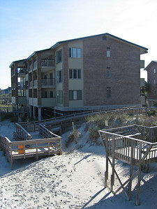 Our home for the week was the condo on the 3rd floor facing the beach, nearest to us.