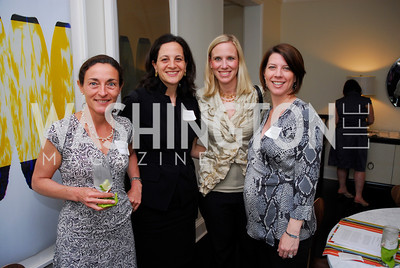 Dina Farrell,Nicole Rabner,Marne Levin,Aviva Rosenthal,Peace Players,May 12 ,2011,Kyle Samperton