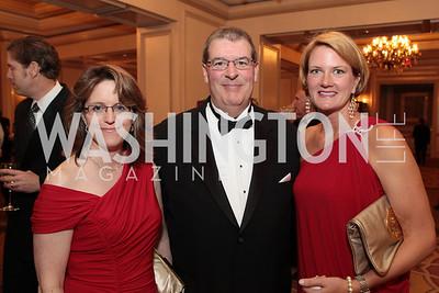 Kim Weaver, Daniel Brenneman, Allison McKinney. Photo by Alfredo Flores. PenFed Foundation's seventh annual 7th Annual Night of Heroes Gala. Ritz-Carlton. May 19, 2011