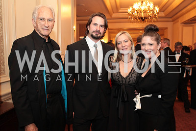 Lee Woodruff, Mark Boal, Terry Sanders, Kate Koher. Photo by Alfredo Flores. PenFed Foundation's seventh annual 7th Annual Night of Heroes Gala. Ritz-Carlton. May 19, 2011