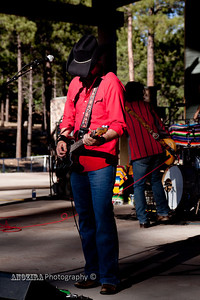 Jim Dalton of Roger Clyne and the Peacemakers in Flagstaff at Fiesta in flagstaff