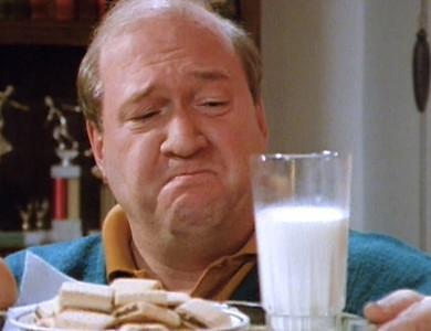 Dad hearts milk