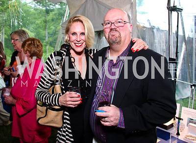 Barbara and Bob Johnson. Photo by Tony Powell. Peterson Lobster Dinner. May 7, 2011