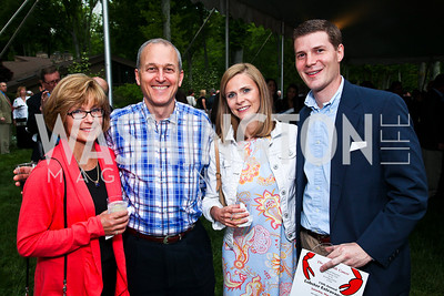 Annalisa and Dave Parks, Ashley and Scott Morgenthaler. Photo by Tony Powell. Peterson Lobster Dinner. May 7, 2011