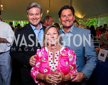 Mark Lowham, Jean Ann Gililland, Frank Ruzzo. Photo by Tony Powell. Peterson Lobster Dinner. May 7, 2011