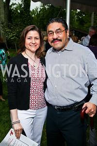 Paula and Bob Hisaoka. Photo by Tony Powell. Peterson Lobster Dinner. May 7, 2011
