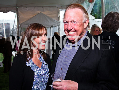 Bonnie and Dick Patterson. Photo by Tony Powell. Peterson Lobster Dinner. May 7, 2011