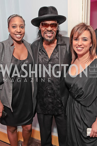 Ashleigh Spiller, Chuck Brown, Gina Ghislaine Dakkouni. Pharrell WIlliams introduces his new liqueur Qream. September 30, 2011