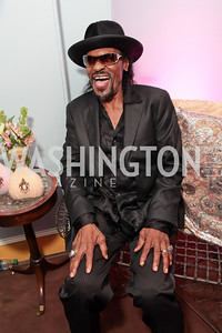 Chuck Brown. Pharrell WIlliams introduces his new liqueur Qream. September 30, 2011. Photo by Alfredo Flores