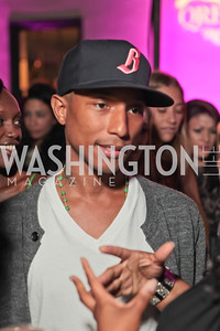 Pharrell WIlliams. Pharrell WIlliams introduces his new liqueur Qream. September 30, 2011. Photo by Alfredo Flores