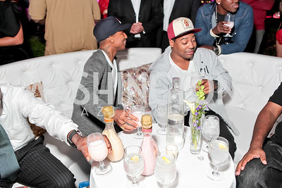 Pharrell WIlliams introduces his new liqueur Qream. September 30, 2011