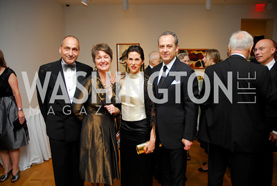 Thomas Kranbuhl,Dorothy Kosinski,Veronica Sarukhan,Aruro Sarukhan,Phillips Collection Gala 2011.May 13,2011,Kyle Samperton