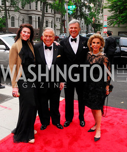 Suellen Estrin,Mel Estrin,Stuart Bernstein,Wilma Bernstein,Phillips Collection Gala 2011.May 13,2011,Kyle Samperton