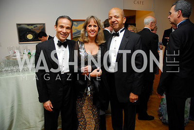Ricardo Ernst,Isabel Ernst,Anthony Williams,Phillips Collection Gala 2011.May 13,2011,Kyle Samperton