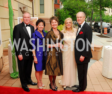 Bruce Tanner,Vicki Tanner,Dorothy  Kosinski,George Vrandenburg,Trish Vrandenburg,Phillips Collection Gala 2011.May 13,2011,Kyle Samperton