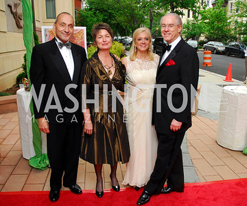 Thomas Krahenbul,Dorothy  Kosinski,George Vrandenburg,Trish Vrandenburg,Phillips Collection Gala 2011.May 13,2011,Kyle Samperton