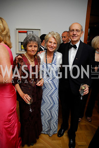 Joanna Breyer,Jane Harmon,Stephen Breyer,Phillips Collection Gala 2011.May 13,2011,Kyle Samperton