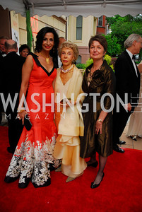 Moshira Soliman,Ina Ginsburg,Dorothy Kosinski,Phillips Collection Gala 2011.May 13,2011,Kyle Samperton