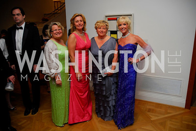 Cecile Strommen,Eva Hafstrom,Louis Akerbloom,Kathy Kemper,Phillips Collection Gala 2011.May 13,2011,Kyle Samperton
