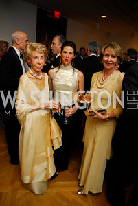 Ina Ginsburg,Veronica Sarukhan,Maria Felice Mekour,Phillips Collection Gala 2011.May 13,2011,Kyle Samperton