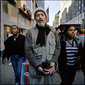NYC, Bruce Gilden, Herald Square, Black Friday