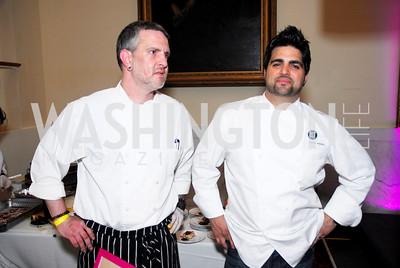 Dan Egen,Victor Albiso,Pink Tie Party,March 25,2011,Kyle Samperton
