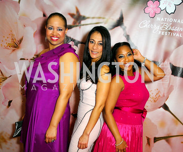 Nicole Venable,Sophia Dillon,Montina Anderson,Pink Tie Party,March 23,2011,Kyle Samperton