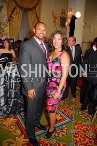 Lorenzo Alexander,Manjanique Alexander,Pink Tie Party,March 23,2011,Kyle Samperton