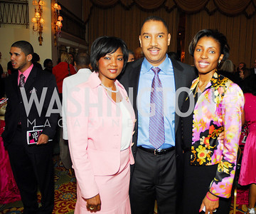 Johnine Barnes,J.R.Clark,Michelle Rhodes Brown,Pink Tie Party,March 23,2011,Kyle Samperton