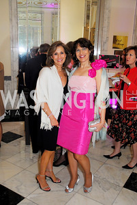 Julie Zelaska,Diana Mayhew,Pink Tie Party,March 23,2011,Kyle Samperton