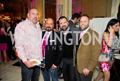Rick Davis,Christopher Vasquez,Brad Roberts,Stephen Strasser,Pink Tie Party,March 23,2011,Kyle Samperton