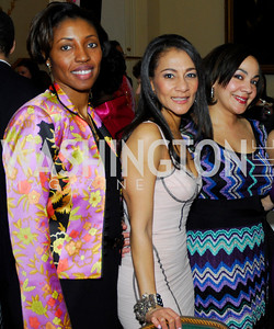 Michelle Rhodes Brown, Sophia Dillon, Andrea Syphax, Pink Tie Party,March 23,2011,Kyle Samperton