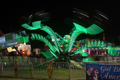 July - Night Shooting at the Fair