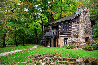 The Cabin at Pere Marquette State Park - Illinois