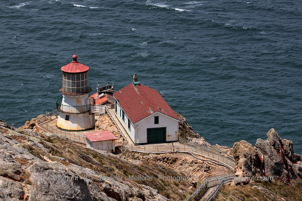 Point Reyes Lighthouse from the Top of the Cliff