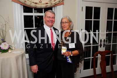 Walter Moore,Susan Woodward Notkins,October 13,2011,Potomac Conservancy Gala,Kyle Samperton