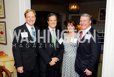 Hendrick Belin,Simon Sidamon-Eristoff,Patricia Moore,Walter Moore,October 13,2011,Potomac Conservancy Gala,Kyle Samperton