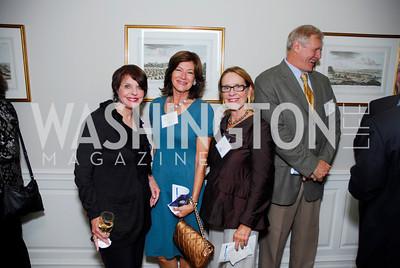 Marlene Maleck,Margo Vanderbye,Marcia Carlucci,October 13,2011,Potomac Conservancy Gala,Kyle Samperton