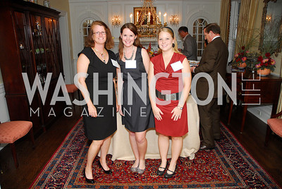 Anne Sundermann,Ella Schwierske,Melisa Diemand,,October 13,2011,Potomac Conservancy Gala,Kyle Samperton