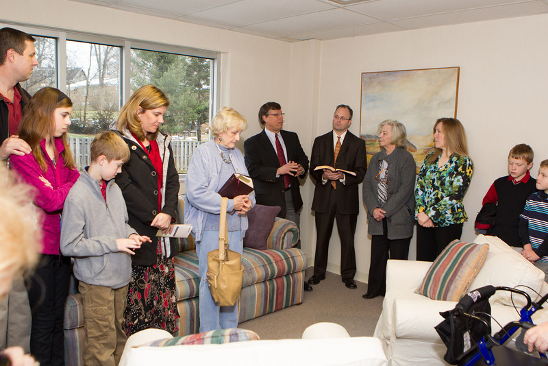 Prayer Room Dedication