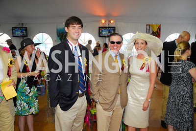 Scott Todd,Jim Free ,Ann Free,Preakness 2011,May 21,2011,Kyle Samperton